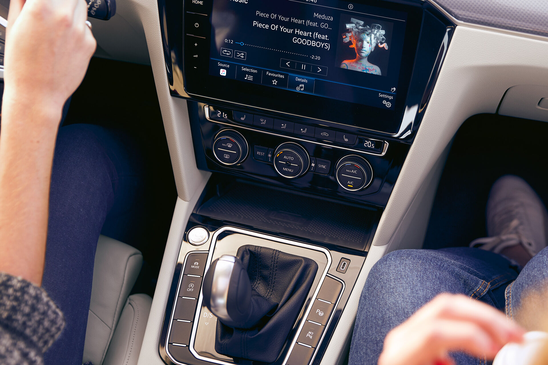 We Connect - Musikstreaming direkt im Infotainment-System